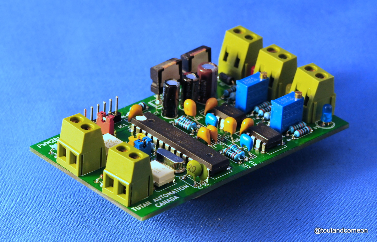Pwm2ls Isolated Dual Channel Low Speed Pwm To Analog Converter Custom Circuit Boards